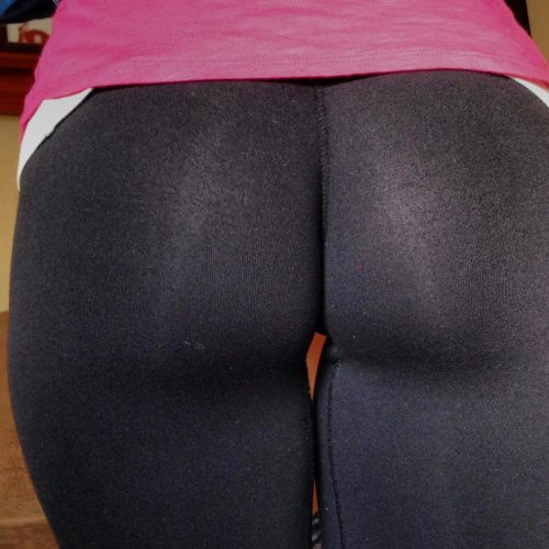 yoga pant thong photo - 2
