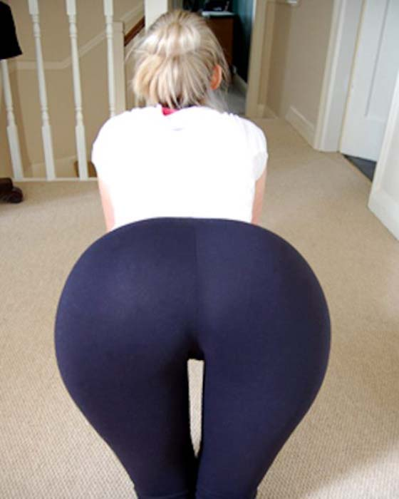 yoga pant video hot photo - 1
