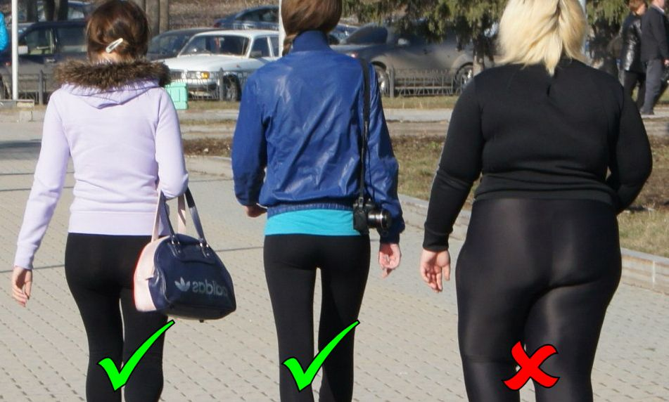 yoga pants fail photo - 1