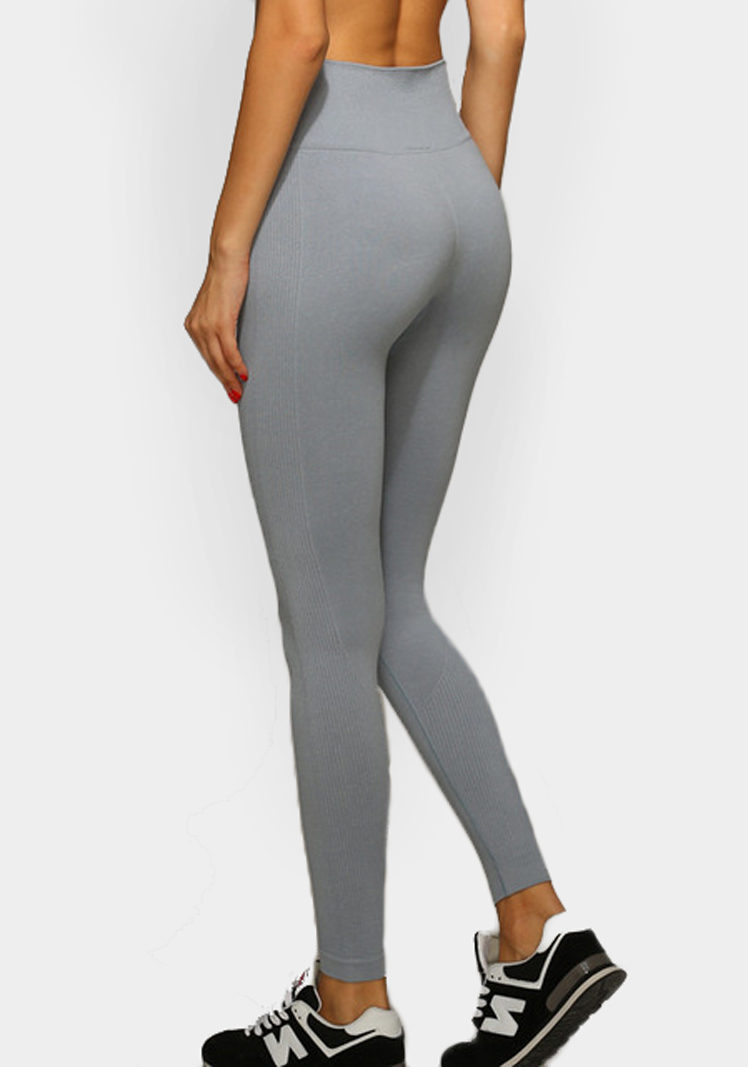 yoga pants gray photo - 1