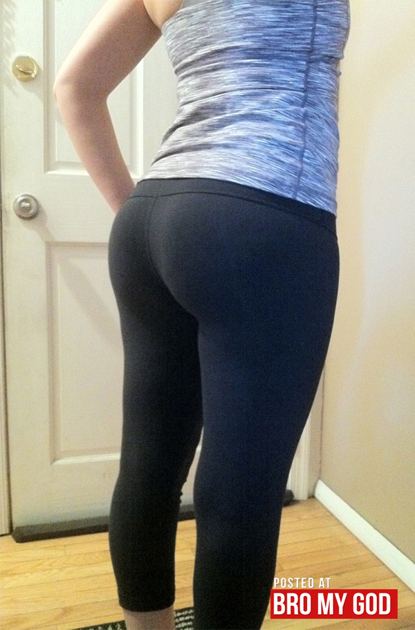yoga pants hump photo - 1