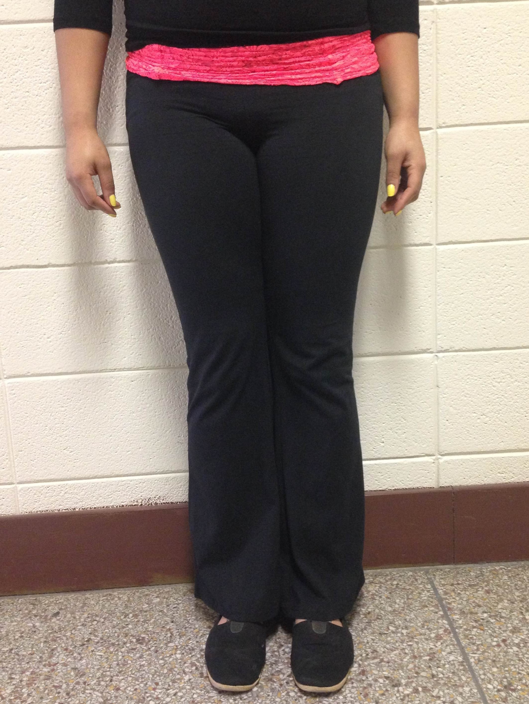 yoga pants inappropriate photo - 2