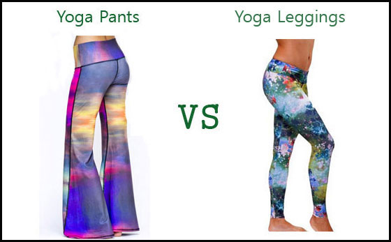 yoga pants leggings difference photo - 2