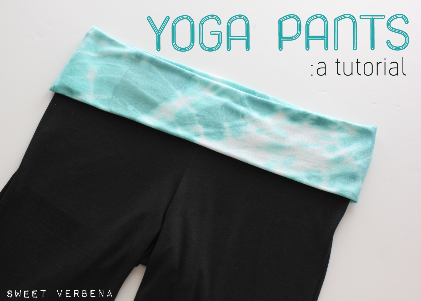 yoga pants pattern photo - 2