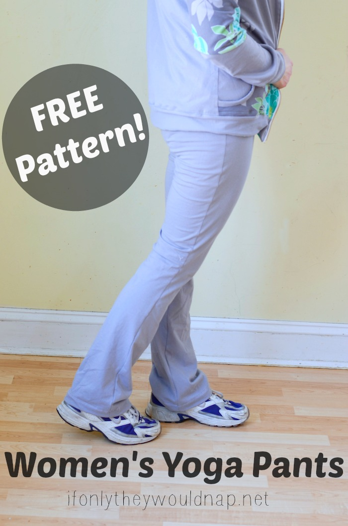 yoga pants sewing pattern photo - 2