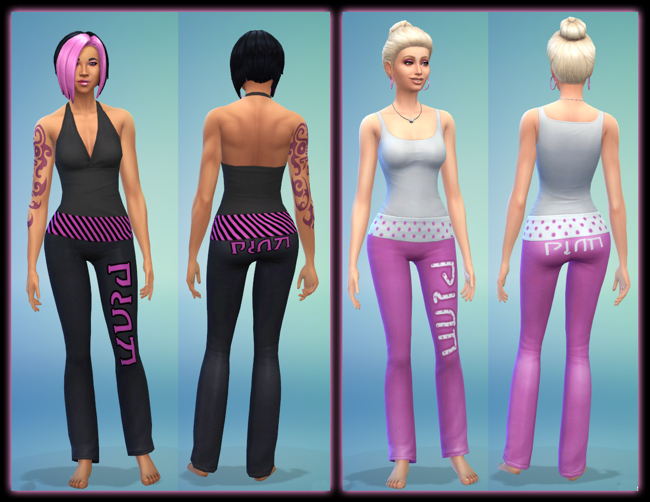 yoga pants sims 4 photo - 1