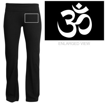 yoga pants symbol photo - 1