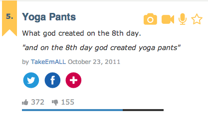 yoga pants urban dictionary photo - 1