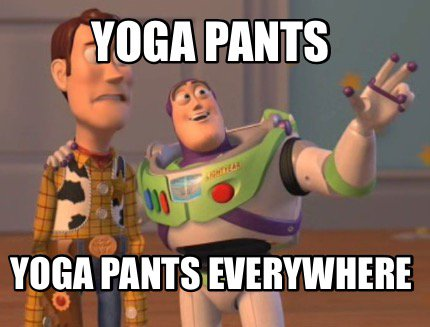 yoga pants yoga pants everywhere photo - 2